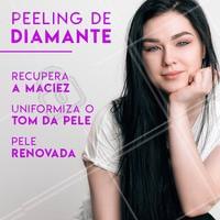 Aproveite para fazer um peeling de diamante e ficar linda para as festas de final de ano. #peeling #ahazou #diamante #esteticafacial #esteticaahazou #rosto #mulher