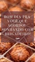Bom diaaa! Que tal realizar seu sonho? Peça já seus brigadeiros! #brigadeiro #ahazou #brigaderia #doce #doceria