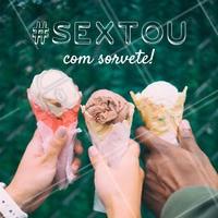 Sextouuu 🍨 #sorvete #amo #ahazou #alimentaçao #comida #sorveteria #doce #ahazoualimentaçao