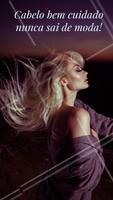Concordam? Um cabelo lindo e saudável sempre estará na moda! #cabelo #ahazou #cabeleireiro #salaodebeleza #ahazoucabelo