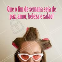 Tudo de bom! #salaodebeleza #ahazou #beleza #cabelo #fimdesemana #sabado