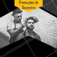 Confere só os precinhos especiais desse mês!  #barberia #ahazou #promoçao #promocional #promoçoesdomes