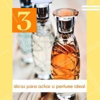 1 - Leve em conta a sua personalidade! O perfume pode representar muito quem você é. 2 - Estude sobre os ingredientes. Você não precisa ser um expert, mas saber o básico sobre os tipos de perfumes e ingredientes principais ajuda muito. 3 - Teste antes! A fragância do perfume pode mudar em contato com a pele, portanto teste o perfume na sua pele e aguarde ums horas para saber se gostou mesmo. #perfume #ahazou #revendedora #consultora