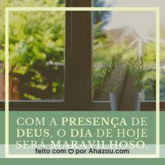 Bom diaaa! 🙏 #bomdia #ahazou #Deus #motivacional
