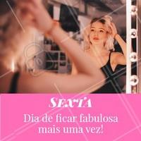 Sextou! Mais um dia para você ficar linda, agende já seu horário. 😍 #salaodebeleza #ahazou #sextafeira #beleza #cabelo