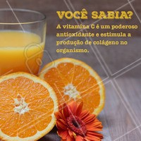 A vitamina C é incrível para a pele e pode ser aplicada em forma de séruns e cremes, ou ingerida em alimentos ricos com essa vitamina, como laranja e acerola. #vitaminac #ahazou #esteticafacial #estetica