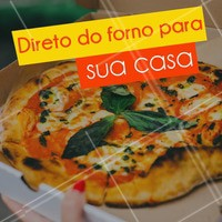 Que tal pedir uma pizza deliciosa e quentinha hoje? Ligue já! #pizza #ahazou #pizzaria #comida #alimentaçao