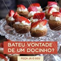 Hmmm bateu uma vontade de doce? 🍭🍡🍫 Peça já o seu favorito, temos uma variedade de delícias para você escolher! #doce #ahazou #doces #doceria #brigaderia #ahazoualimentacao