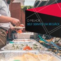 Venha experimentar e se deliciar com nosso self service! #selfservice #restaurante #ahazoualimentaçao #comida #alimentaçao #almoço