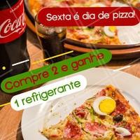 Aproveite a promoção do dia! Faça seu pedido. #alimentacao #ahazou #pizza #promocao
