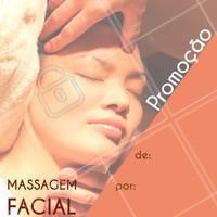 Aproveite essa promoção especial! A massagem facial tem vários benefícios, como melhorar a circulação da pele, prevenir rugas, promover relaxamento e dar um efeito lifting. Agende o horário da sua! #massagemfacial #ahazou #esteticafacial #ahazouestetica