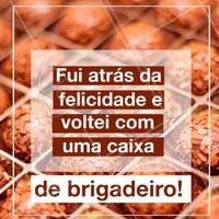 Quem não ama? 😍 #brigadeiro #ahazou #brigaderia #chocolate #doces #doceria #doce