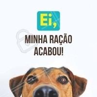 Chegou a hora de repor a ração do seu pet? Passe aqui e escolha entre nossas diversas opções! #pet #animal #ahazou #animais #cachorro #petshop #ahazoupet