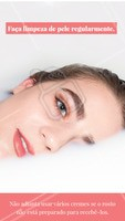 Dica valiosa! Quando a pele tem acúmulo de sujeiras, poros obstruidos e oleosidade excessiva, o uso de cremes pode ter um efeito muito menos efetivo. Por isso a limpeza de pele regularmente é tão importante! #limpezadepele #ahazou #estetica #esteticafacial