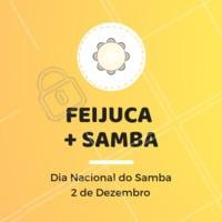 Para comemorar o dia nacional do samba, traga os amigos e venha curtir o nosso sambinha e provar a nossa deliciosa Feijuca! #feijuca #samba #feijoada #ahazou #gastronomia #musica #amigos #curticao