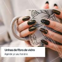 Aproveite essa promoção. As suas unhas podem crescer fortes e ficar ainda mais lindas com essa técnica.  Já agendou o seu horário? #unhas #ahazoubeleza #unhadefibradevidro #promocao