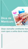 É uma boa opção na hora de passar esmalte clarinho. #manicure #ahazouapp #unhas #ahazou