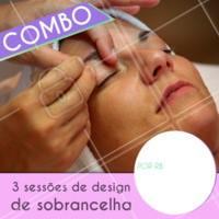 Aproveite a promoção para fazer as sobrancelhas. Marque o seu horário agora mesmo! #sobrancelha #ahazou #cuidados #promocao #bonita