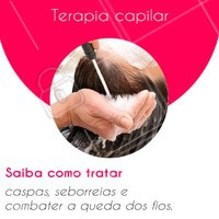 A terapia capilar ajuda a prevenir problemas e tratar o couro cabeludo e os fios, recuperando a saúde do cabelo. Pode ser feita a partir da massagem capilar, máscaras de argila, fotobioestimulação e peeling capilar, entre outras. Agende seu horário e conheça! #terapiacapilar #ahazou #cabelo
