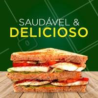 Nossos pratos e sanduíches saudáveis são uma delícia. Experimente e peça já o seu! #comidasaudavel #ahazou #ahazoualimentaçao #saudavel