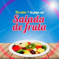 Quem aí também ama? 😍 #saladadefruta #ahazou #fruta #frutaria #feira #ahazoualimentacao