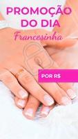 Aproveite o desconto para fazer francesinha! #manicure #ahazouapp #unhas #ahazou