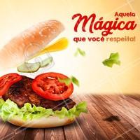 Venha saborear um delicioso hamburguer hoje! #alimentacao #ahazou #hamburguer #ahazoualimentacao