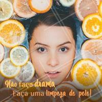 Venha fazer a sua limpeza de pele! #estetica #ahazou #limpezadepele #cuidados