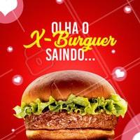 Quem ama x-burguer clique duas vezes! ♥ #amorporhamburguer #hamburguer #ahazouapp #ahazougastronomia #xburquer