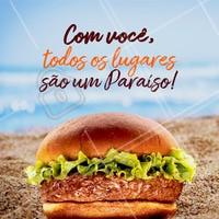 Aquele amor por hambúrguer que te acompanha em todos os momentos. #hamburguer #loucosporhamburguer #ahazouapp #ahazougastronomia #gastronomia #burger