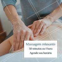 Nós merecemos uma massagem relaxante, né? Ligue agora para agendar o seu horário. #massagem #massagemrelaxante #relax #ahazousaude #bemestar