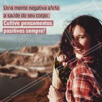Pensamento positivo é tudo! 🙏 #positividade #ahazou #positiva #saude #bemestar #motivacional