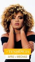 Quem aí tem curtido essa tendência? As mechas no cabelo afro traz uma leveza e luminosidade mara! 😍 #cabelo #ahazoucabelo #cabeleireiro #afro #cacheados #cachos