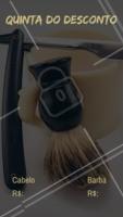 Aproveite para agendar o seu horário. #barbeiro #barbearia #ahazouapp #promocao #sabado