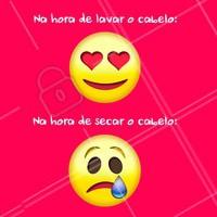 Hahaha quem aí também tem preguiça? #cabelo #ahazoucabelo #meme #engraçado