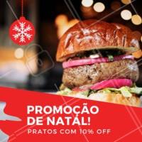 É Natal e nós estamos em promoção! Venha provar nossas delícias, traga a família e se divirta.  #alimentacao #ahazougastronomia #natal
