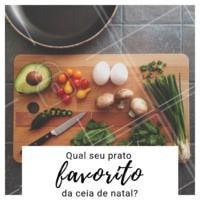 Conta pra gente, qual o seu prato favorito? A sobremesa? O arroz? ... queremos saber mais sobre o seu gosto. #gastronomia #ahazougastronomia #enquete