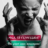 Estresse? Nunca nem ouvi falar. 😂 Corro para fazer a minha massagem! 💆 #massagem #massoterapia #relaxamento #ahazouapp #ahazousaude #saude #bemestar