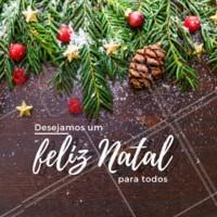 O natal chegou e nós desejamos a vocês um ótimo final de ano, muitas realizações e um próspero ano novo. #natal #ahazougastronomia #jajavem2019