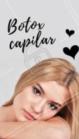 Já ouviu falar do Botox Capilar? Ele é um tipo de tratamento intensivo que hidrata, dá brilho e preenche os fios de cabelo, deixando-os mais bonitos, sem frizz e sem pontas duplas. #dicas #ahazoubeleza #botoxcapilar