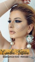 Aproveite esse combo especial e venha ficar linda! #maquiagem #ahazou #cabelo