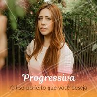 Você ama manter seus fios lisos e alinhados? Agende já o horário da sua progressiva! #progressiva #ahazoucabelo #cabelo #cabeleireiro