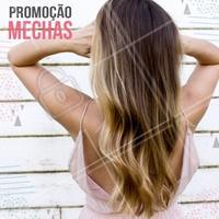 Que tal aproveitar essa promoção incrível? Corre e aproveita pra agendar seu horário! #cabelo #promoçao #mechas #cabeleireiro #ahazoucabelo
