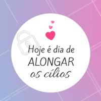Hoje é dia de cílios poderosos e dar um up na autoestima!  #cilios #motivacional #ahazou #alongamentodecilios #fioafio