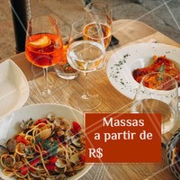 Não perca essa promoção e venham provar nossos diversos pratos de massa. #massas #food #ahazouapp #gastronomia