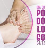Podólogo, hoje é seu dia! Obrigada por cuidar tão bem da saúde dos nossos pés 🙏 #podologia #ahazoupodologia #ahazou #diadopodologo
