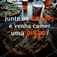 Nossas pizzas são uma delíciaaaa! 🍕 #pizza #pizzaria #ahazouapp #amigos #food
