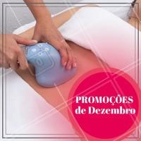 Aproveite as promoções desse mês e agende seu horário! #esteticacorporal #ahazou #dezembro #Promoçao