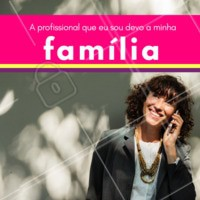 A família é a base para o futuro. #familia #ahazou #diadafamilia