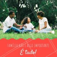 A família é um grande tesouro!  #diadafamilia #ahazou #familia